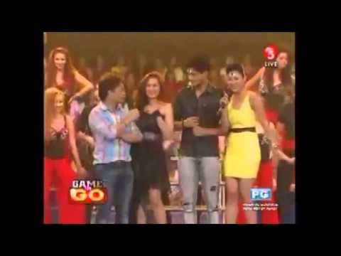 Game N go(TV5): Eula Caballero's dance prod & the cast of THIRD EYE (July 29, 2012)