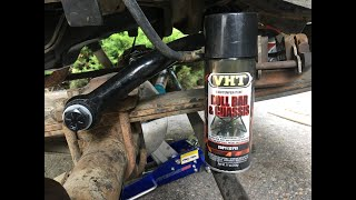 How to Paint Chassis, Suspension & Roll Bar Parts