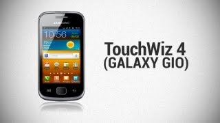 TouchWiz 4 on Galaxy Gio