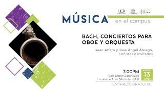 BACH, CONCIERTOS PARA OBOE Y ORQUESTA(EAM-13-08-18)