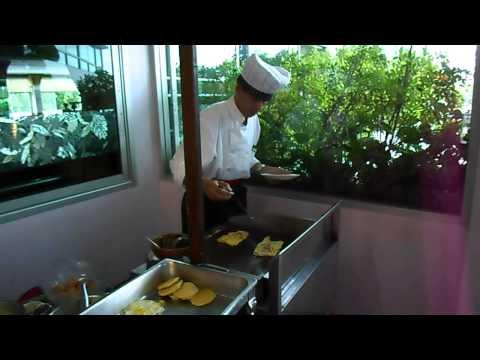 Breakfast at Viang Tak Riverside Hotel