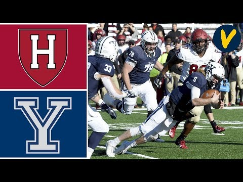 Harvard vs Yale Highlights |  Week 13 | College Football 2019