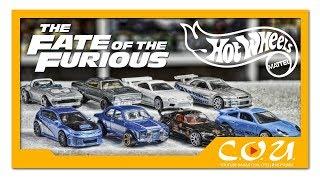 Видео обзор: Хот Вилс по фильму Форсаж | The fast and the furious Set 2017 | Hot Wheels
