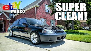 Making the Civic CLEAN! (*FOR CHEAP $$$!*)