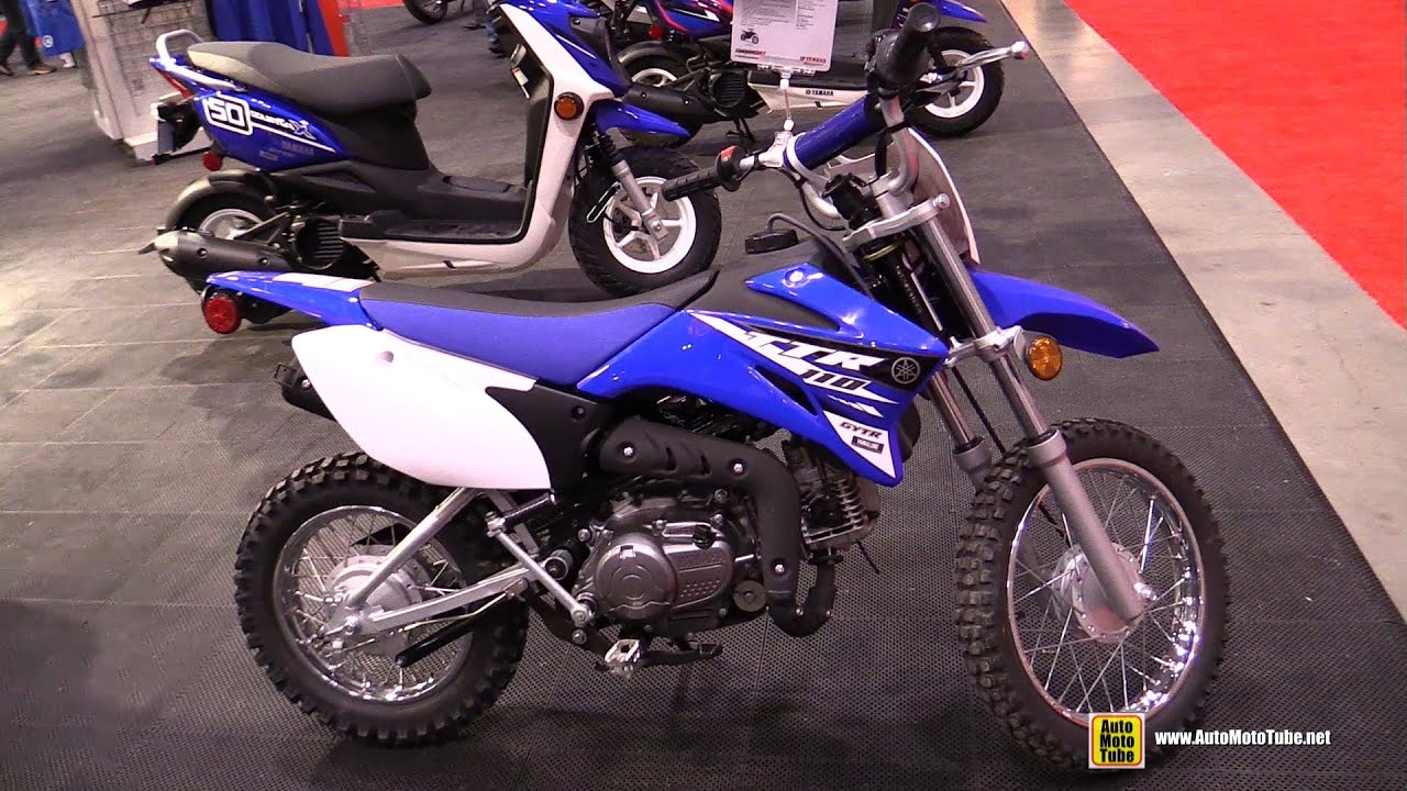 2015 Yamaha TT-R 110E Mini Bike - Walkaround - 2015 Toronto ...