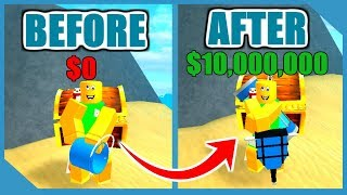 HOW TO GET UNLIMITED SAND IN ROBLOX TREASURE HUNT SIMULATOR