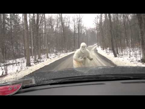 SHOCKING YETI ENCOUNTER CAUGHT ON TAPE