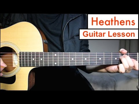 Heathens - Twenty One Pilots | Guitar Lesson Tutorial EASY Chords