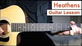 Heathens - Twenty One Pilots | Guitar Lesson Tutorial EASY Chords