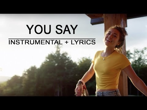 You Say - Lauren Daigle | Piano Instrumental | Lyrics | By Betacustic