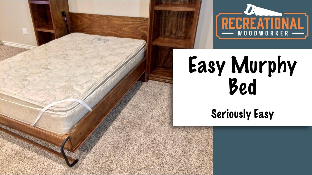 How To Build A Murphy Bed Using Create A Bed Hardware