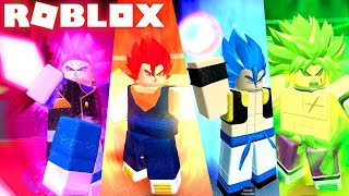 ATUALIZAÇÃO! DRAGON BALL SUPER NOVO GOKU BLACK ROSE, VEGITO E TRUNKS NO ROBLOX! DRAGON BALL RP