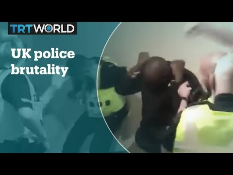 UK police officers beat black man in viral video