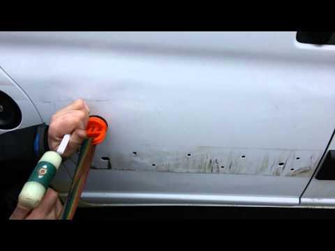 Кузовной ремонт ситроен берлинго сдвижная дверь(1)
