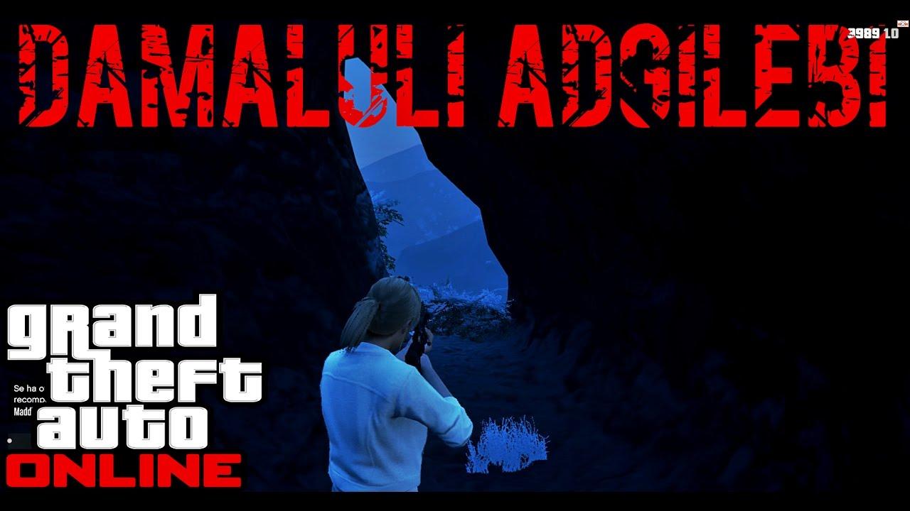 GTA 5 online ქართულად დამალული ადგილები GTA 5 ONLAIN_ში GiorgiGames