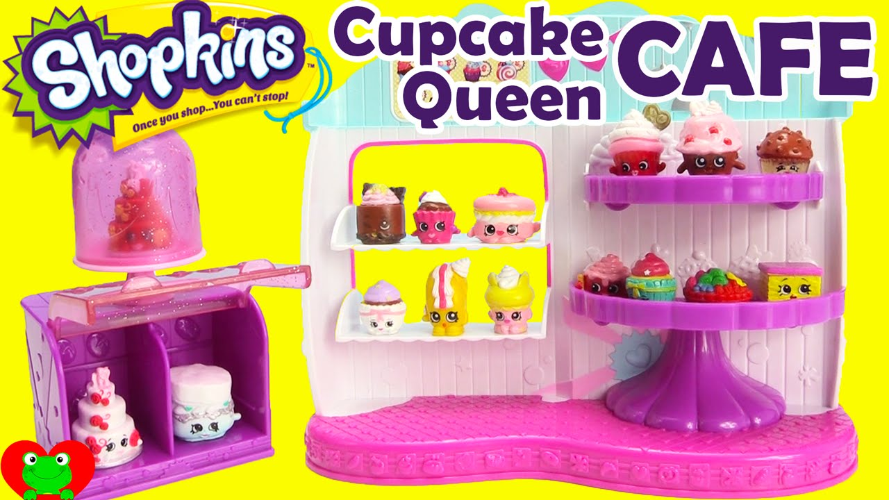 Shopkins Cupcake Queen Cafe Season 4 Food Fair Playset With 2