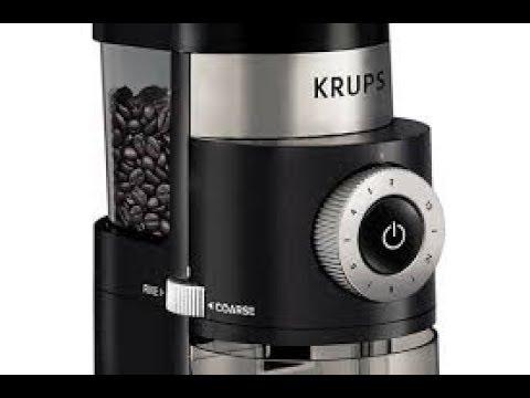 Krups GX5000 Burr Grinder Review