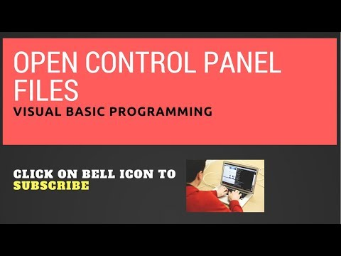 Open Control Panel files (.cpl) using VB.net : Visual Basic Programming