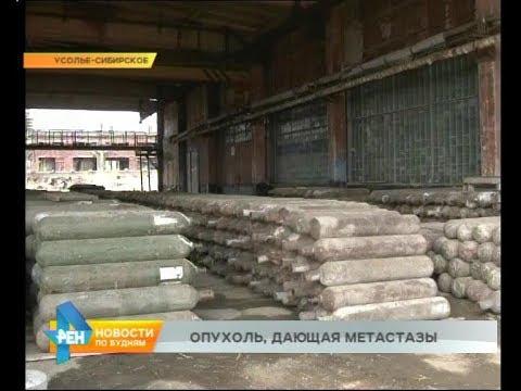 """Часть отходов с """"Усольехимпрома"""" хотят утилизировать в Братске и Ангарске"""