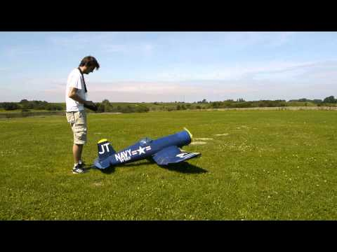 top flite giant corsair with ZG62