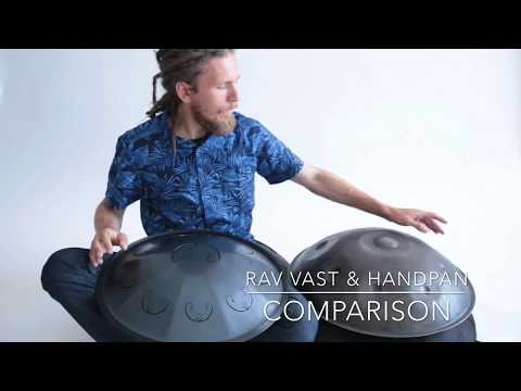 RAV Vast & Handpan Comparison, Demonstrated by Pasha Aeon
