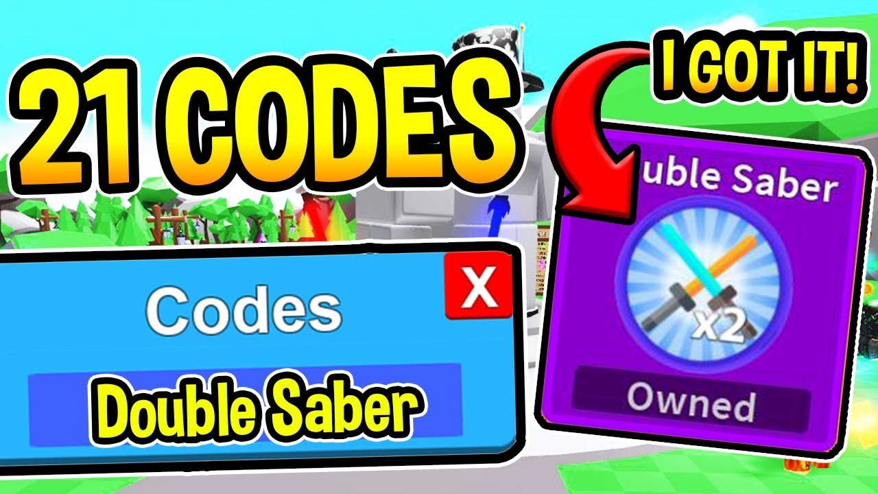 roblox codes for saber simulator