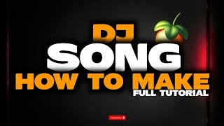 How To Make Dj Song   In Marathi  Full Video Tutorial FL studio mobile It's Rahul Remix