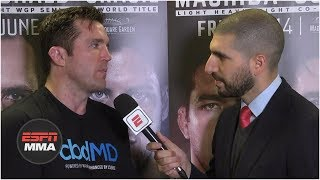 Chael Sonnen on decision to retire: 'I've used up all my toughness' | Bellator 222 | ESPN MMA