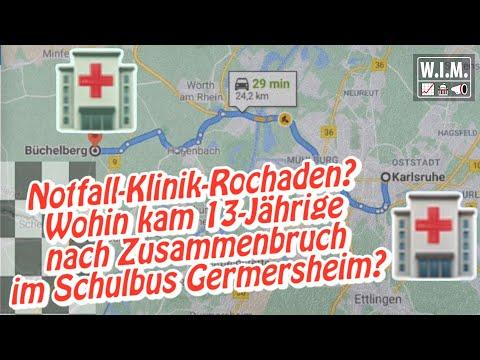 Notfall-Klinik-Rochaden? Brachten Corona-Maßnahmen 13-Jährige doch um im Schulbus in Germersheim?