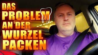 Das Problem an der Wurzel packen | Vlog Deutsch thumbnail