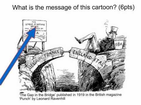 Treaty Of Versailles Cartoon Analysis Guillotine
