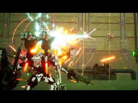 Daemon X Machina - Release Date Trailer (E3 Nintendo Direct)