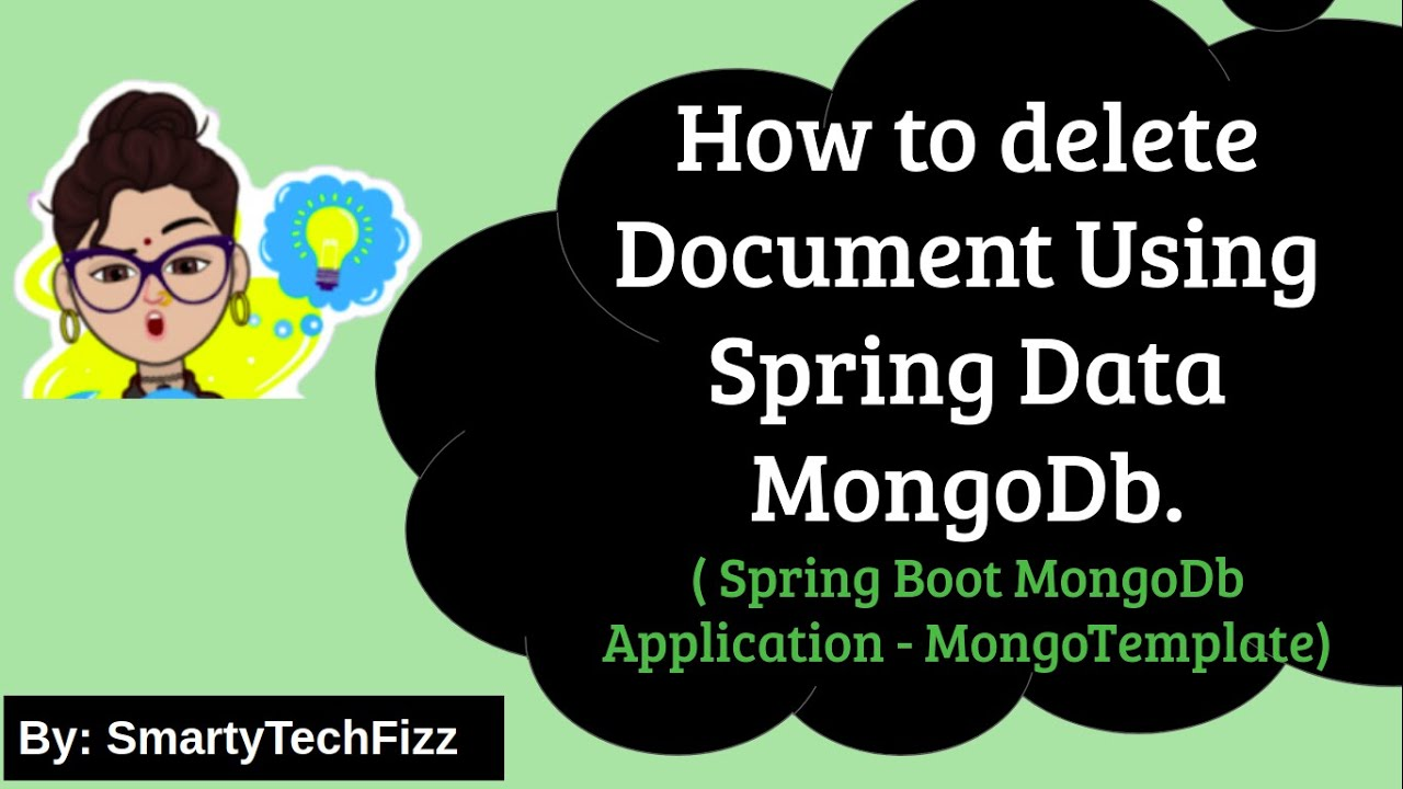 Spring Data MongoDB Delete Operation |Spring Boot+Spring Data MongoDb+MongoTemplate Delete