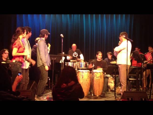 """""""Yo No Se Mañana"""" by Luis Enrique at Berklee with Francisco Ruiz and Marianella Rojas"""