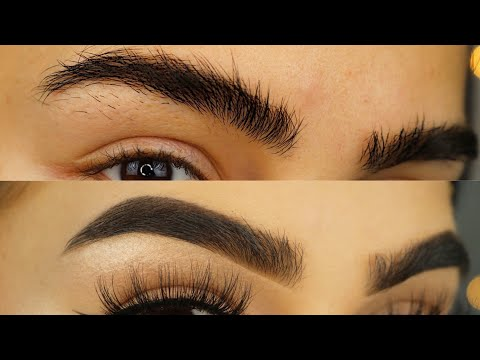 THICK EYEBROWS Routine I Aylin Melisa