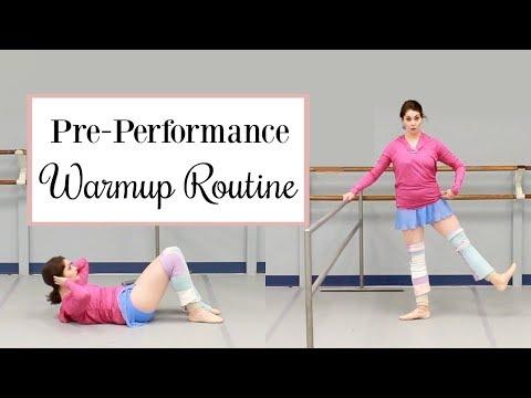 Pre Performance Warmup Routine - Follow Along | Kathryn Morgan