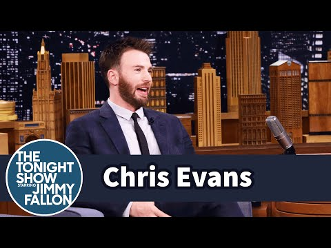 Thumbnail: Chris Evans' Rescue Dog Loves to Sit on His Niece