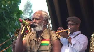 Burning Spear 'Slavery Days' Higher Vision Fest Santa Rosa Ca June 9 2012