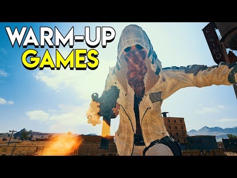 Warm-Up Games - PlayerUnknown's Battlegrounds (PUBG)