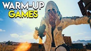 Warm-Up Games - PlayerUnknown's Battlegrounds (PUBG)
