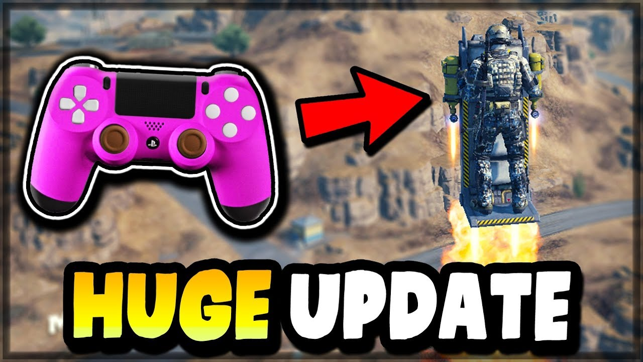 Call of Duty Mobile HUGE UPDATE (NEW Events, CONTROLLER SUPPORT, AIRBORNE Battle Royale Class, MORE)