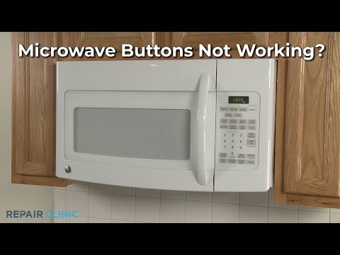 Microwave Buttons Not Working? Microwave Oven Troubleshooting