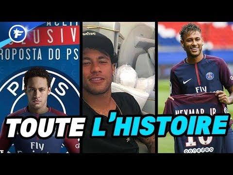 Chronologie de l'hallucinant transfert de Neymar au PSG