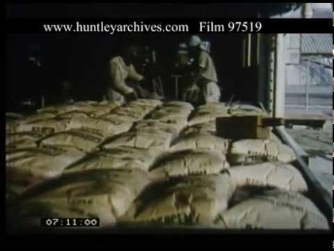 Delivering Cement In Nigeria, 1960s - Film 97519