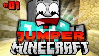 HARDCORE ABENTEUER der LÜFTE?! - Minecraft Jumper #01 [Deutsch/HD]