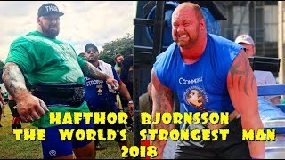 Hafthor Bjornsson - The World