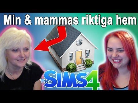 Special Video Med Min Mamma - Vårt Riktiga Hem i The Sims 4