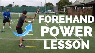 Tennis Forehand Transformation - Technique For Maximum Power and Control