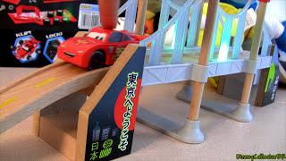 Wood Tokyo Rainbow Bridge Playset Disney Pixar Cars 2 Wood From Tru Toysrus Exclusive