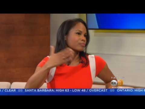 Robinne Lee on KCAL Weekend